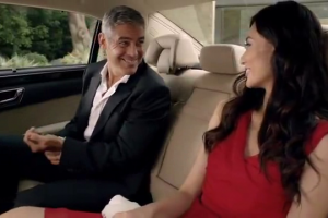 George Clooney Starring In A TV Commercial for Mercedes-Benz China
