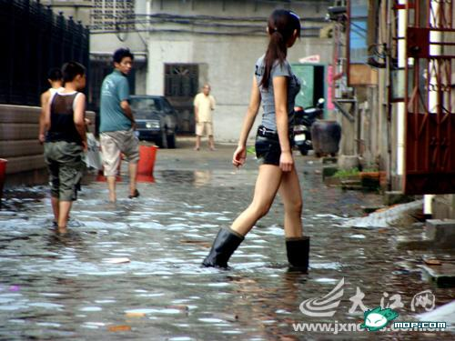 long-legged-beauty-in-flood - First things first - Philippine Photo Gallery