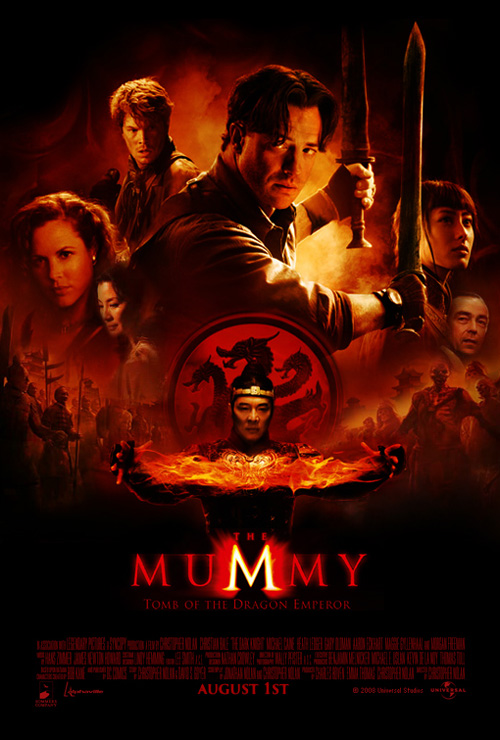 brendan fraser the mummy 3. And the dragon is even a