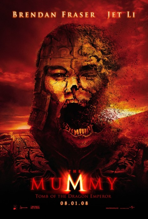 'The Mummy 3: Tomb of the Dragon Emperor' movie poster.