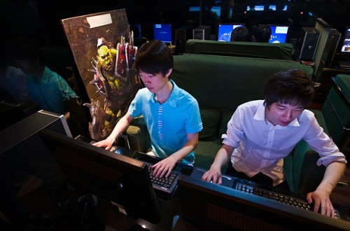 Korean Gamers. Source: Time (http://www.time.com/time/specials/2007/article/0,28804,1815747_1815707_1815675,00.html)