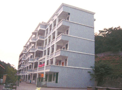 The five story tall #12 Middle School in Yongzhou City of Hunan Province, China.