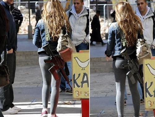 Jewish Girls With Guns, Chinese Netizen Reactions - chinaSMACK