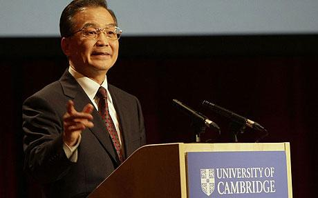 chinese-premier-wen-jiabao-cambridge-university-2009-getty
