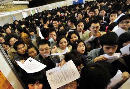 china-job-fair-crowds-submitting-cv-resumes