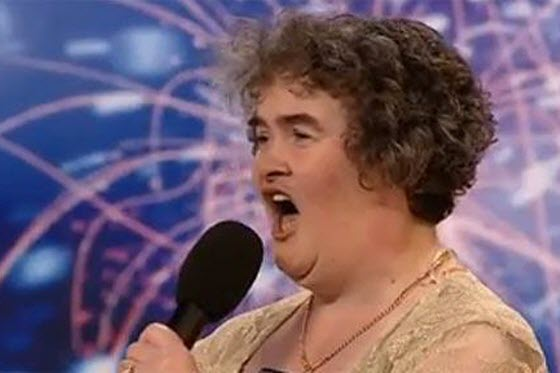 Chinese netizen reactions to Susan Boyle, a 47-year-old British woman who sang