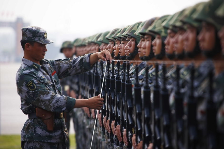 Training The Chinese Army For The National Day Parade – chinaSMACK