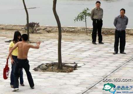man hits unfaithful fiancee