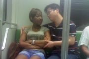 shanghai-metro-black-chinese-couple