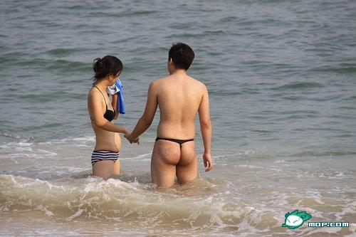 Nude beach sex japan