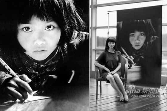 Beautiful black & white photographs of smiling but impoverished Chinese children in Tibet encourage netizens to support charities trying to change their fates.