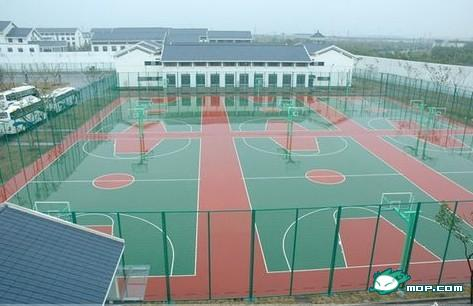 Chinese prisons more modern luxurious than schools for How much does it cost to build a basketball court