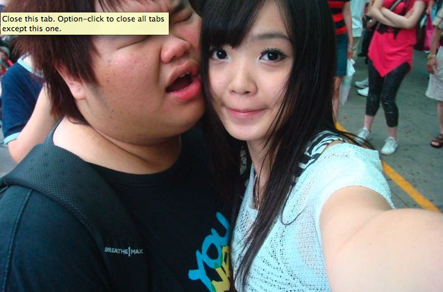 Cute guy dating ugly girl