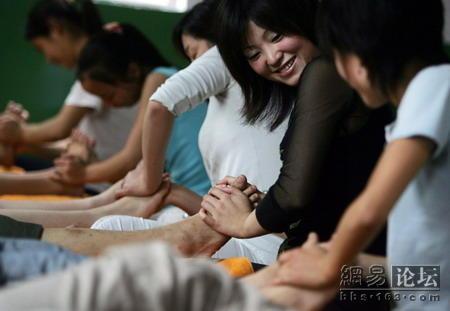 foot massage girls lives photographs