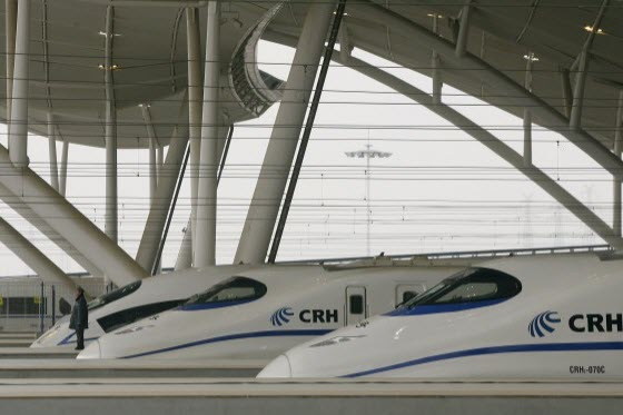 Wang Yongping, China's railway ministry spokesperson justifies the new Wuhan-Guangzhou high speed train's expensive ticket prices by comparing w/ Germany's ICE.