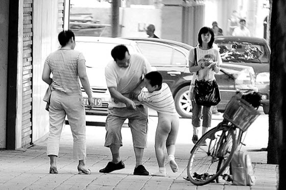 Chinese netizens share stories of how their parents physically punished & disciplined them when they were children, & with what