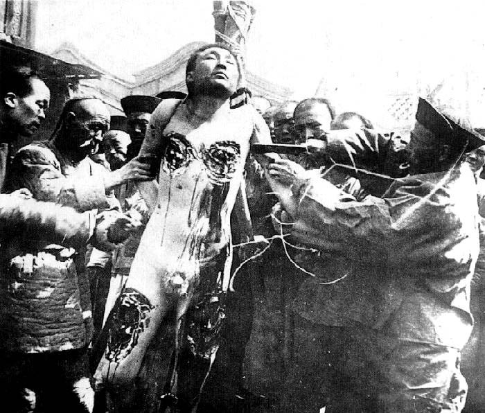 Death By A Thousand Cuts' Photos From Late Qing Dynasty – chinaSMACK