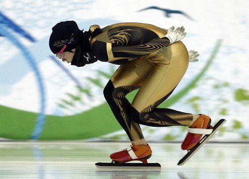 Japanese speed-skater Miho Takagi