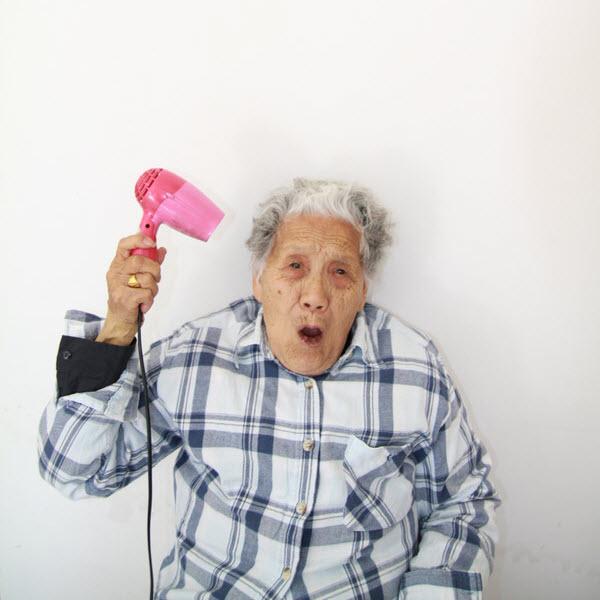 Crazy old granny