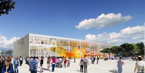 2010 Shanghai World Expo Belgium EU Pavilion