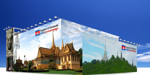 2010 Shanghai World Expo Cambodia Pavilion