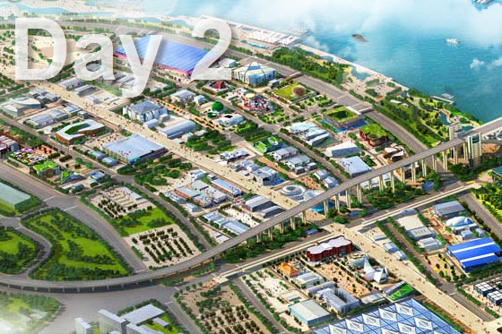 2010 Shanghai World Expo Guide Day 2