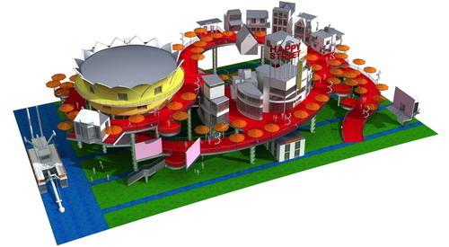 2010 Shanghai World Expo Netherlands Pavilion