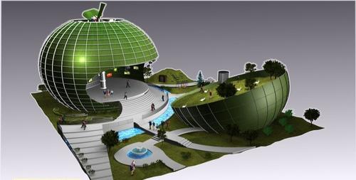 2010 Shanghai World Expo Romania Pavilion