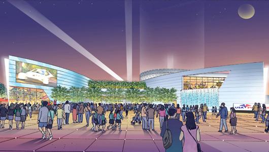 2010 Shanghai World Expo USA Pavilion