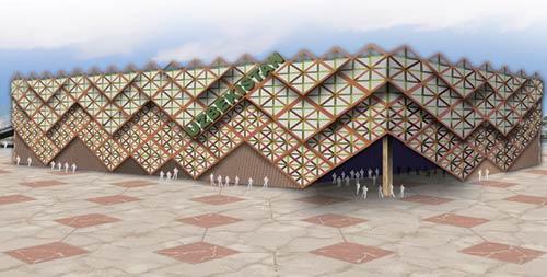 2010 Shanghai World Expo: Uzbekistan Pavilion