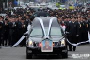 Taiwanese crime lord Lee Chao Hsiung funeral procession.