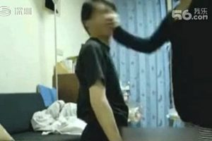 Husband is forced to kneel and is slapped 42 times by his wife for missing an appointment.