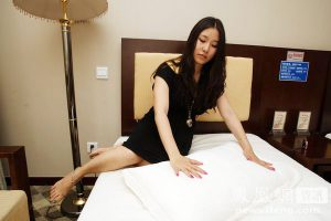 """One of six hotel """"sleep testers"""" in China."""