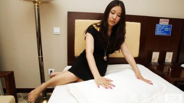 "One of six hotel ""sleep testers"" in China."