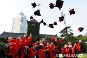 Chinese PhD graduation.