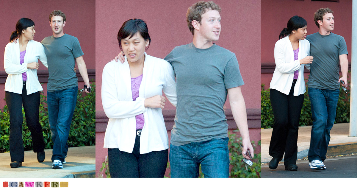 Paparazzi photos of Facebook CEO Mark Zuckerberg were published by tabloid