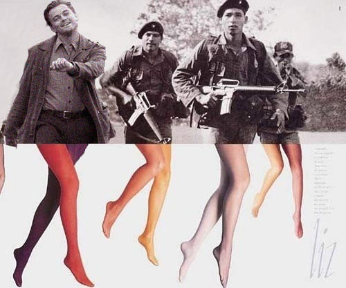 "Leonardo DiCaprio ""strutting"" photoshop."