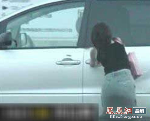 Wife catches cheating husband having sex with mistress inside minivan.