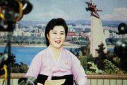 North Korean anchorwoman Ri Chun Hee.