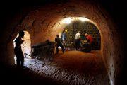 Brick kiln workers in China.