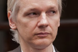 Julian Assange, founder of Wikileaks.