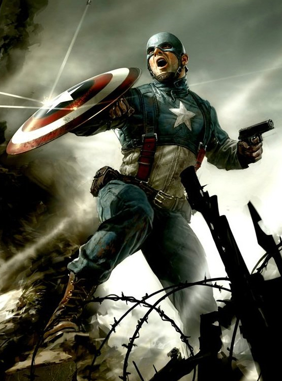 Captain America: The First Avenger.
