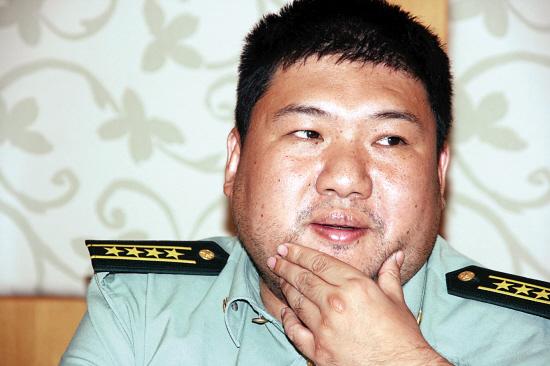 Mao Zedong's grandson Mao Xinyu.