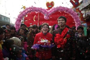Rebecca Kanthor and Liu Jian's traditional rural wedding in Henan, China.