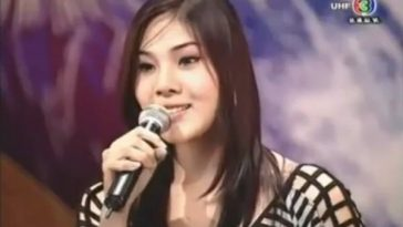 Bell Nuntita, a Thai transsexual singer on Thailand's Got Talent.