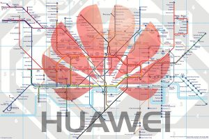 Huawei's offer to deploy a mobile phone network for the London Underground was blocked by British authorities.