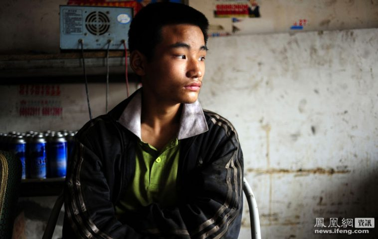 Liu Fuyuang, kicked out of Chongqing school for his body odor.