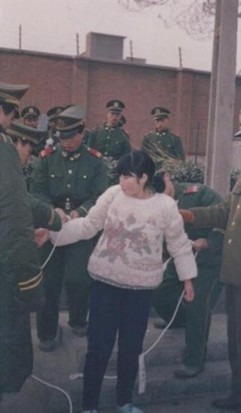 "Liu Jinfeng, one of 10 Chinese ""beauties"" that have been given the death penalty over the past 30 years in China."