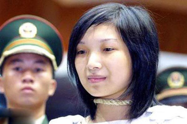 executed women Beautiful chinese