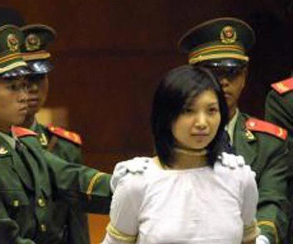 Think, Chained asian women in prison knows